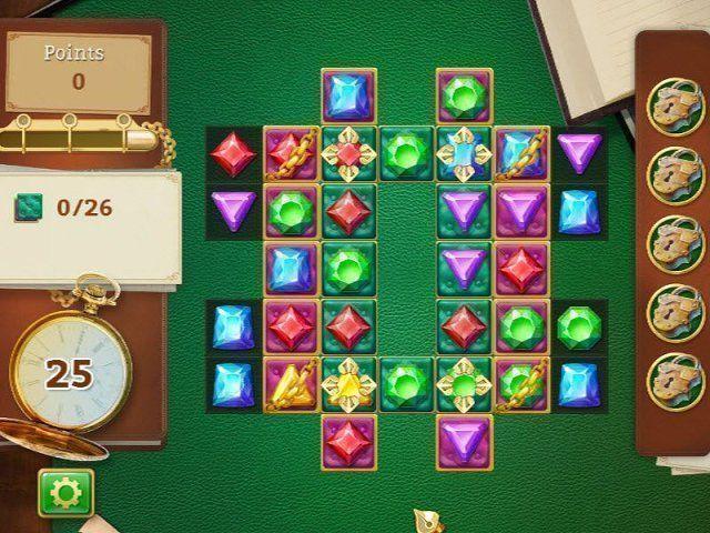 Cesta drahokamů hra