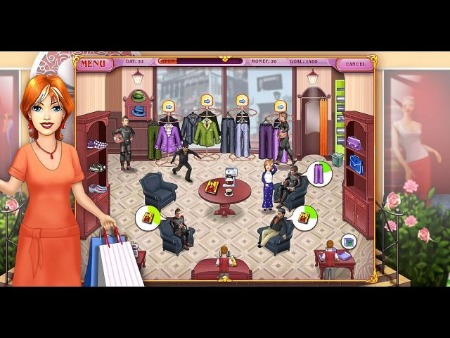 Dress Up Rush en Español game
