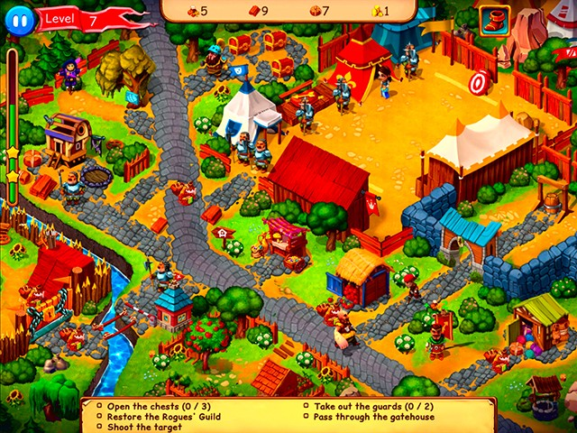 Robin Hood: Country Heroes en Español game