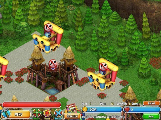 Dream Builder: Il Parco dei Divertimenti game