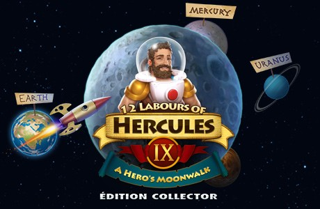 12 Labours of Hercules IX: A Hero's Moonwalk. Édition Collector