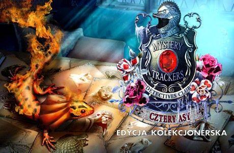 Mystery Trackers. Detective Club: Cztery Asy. Edycja Kolekcjonerska